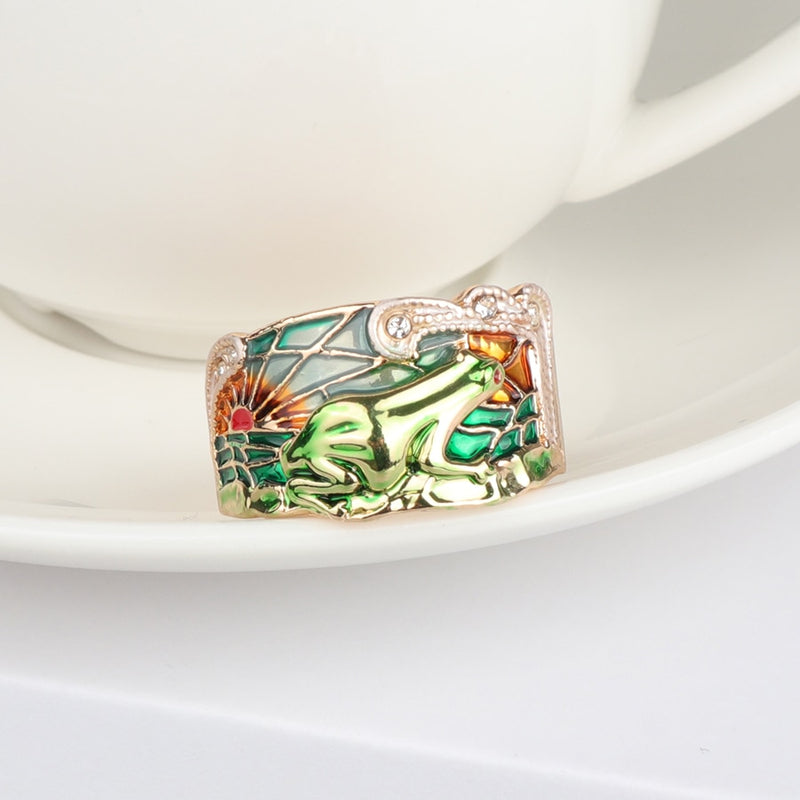 Limited Edition: Southwest Peacefrog Ring