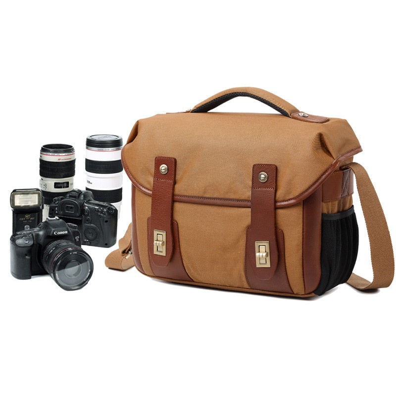 Retro Messenger Photography Bag - Earthly Citizens