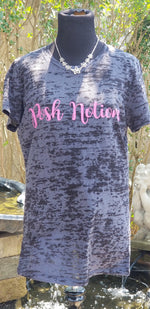 Posh Notions #Logogear Burnout Women's Tee