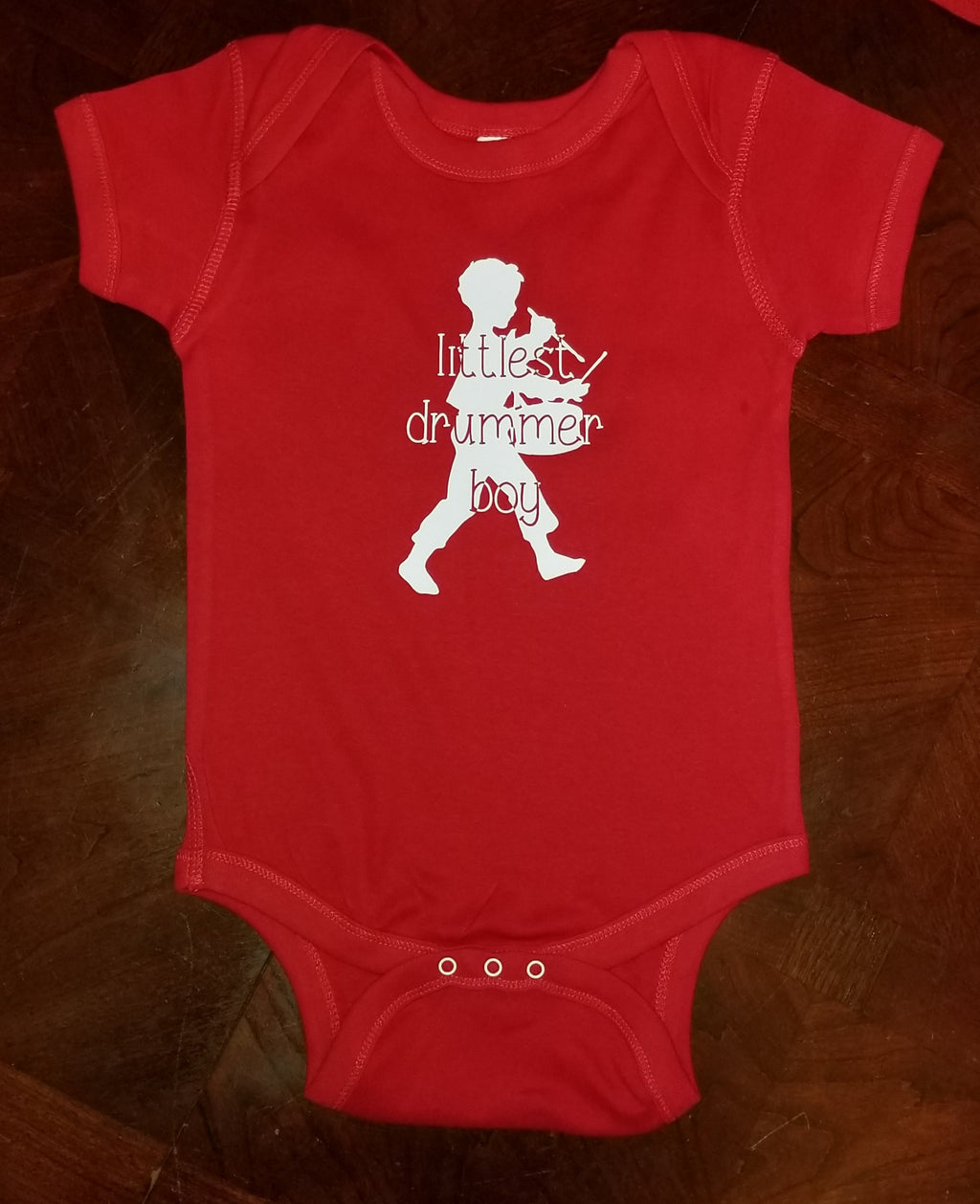 Littlest Drummer Boy Bodysuit