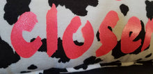 "'Moove Over, Moove Closer"" Cow Print Pillow"