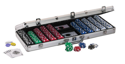 Fat Cat 500c poker chip set