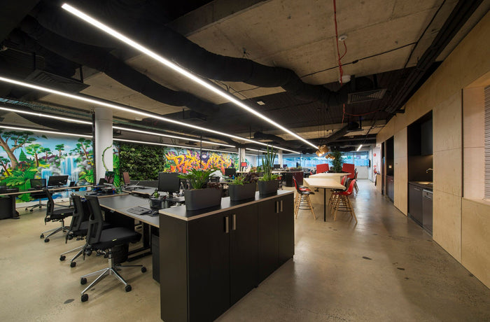 Office Fit Out with Sit and Stand Desks