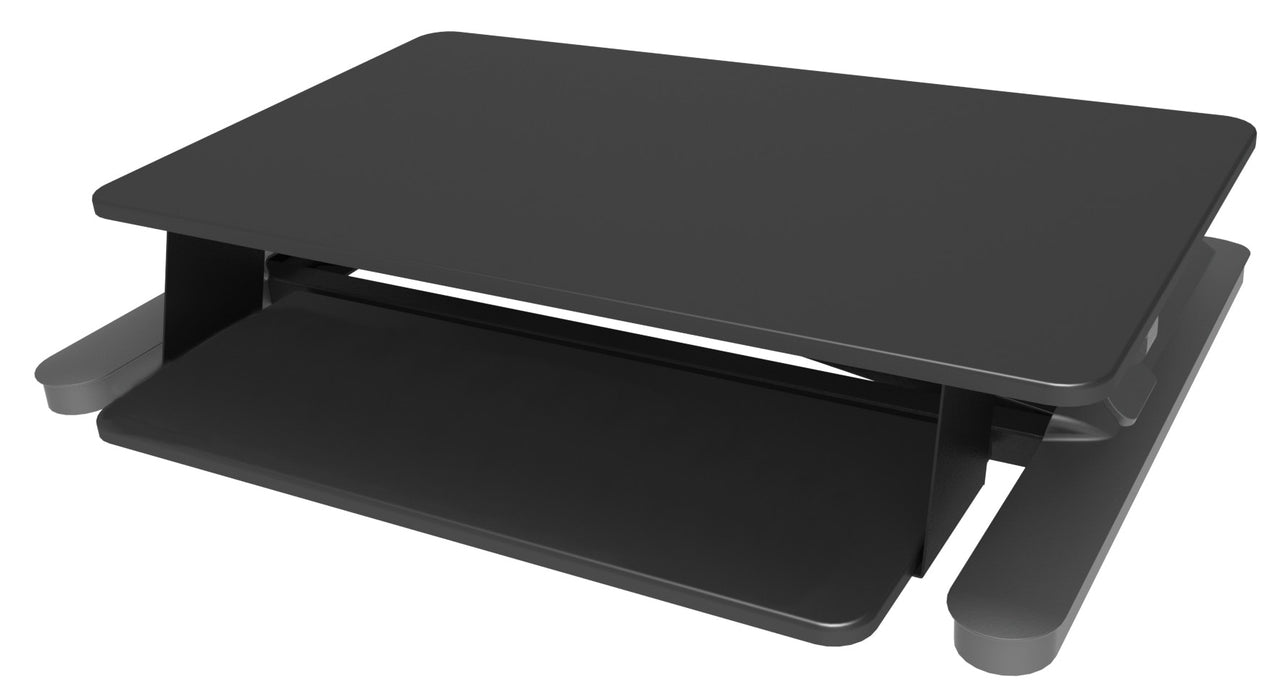 Elevar MaxiShift-X Manual Lift Sit and Stand Desktop Platform