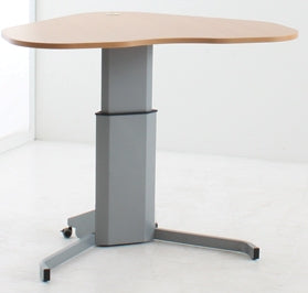 Mia Mobile Sit and Stand Desk Various Top Colours