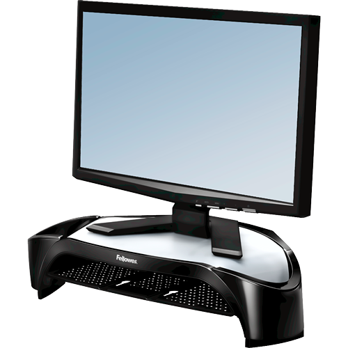 Fellowes Smart Suites Corner Monitor Riser Plus