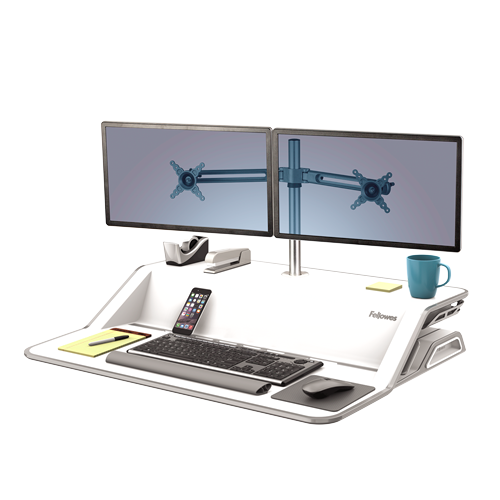 Fellowes Lotus Sit Stand Workstation
