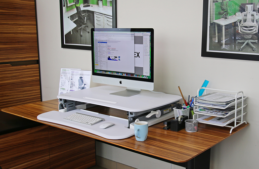 Deskalator Sit and Stand Desktop Platform