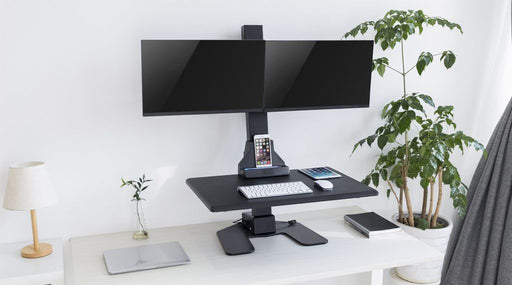 Ergovida EDT10 Series Desktop Sit and Stand Unit