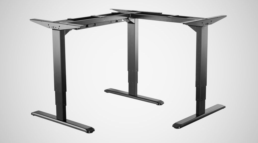 Ergovida L Shape or Corner Sit and Stand Desk