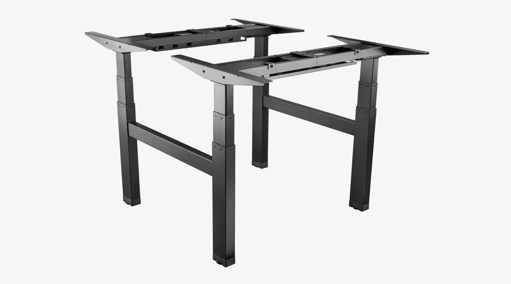 Ergovida Back to Back Dual Sit and Stand Desk H Frame