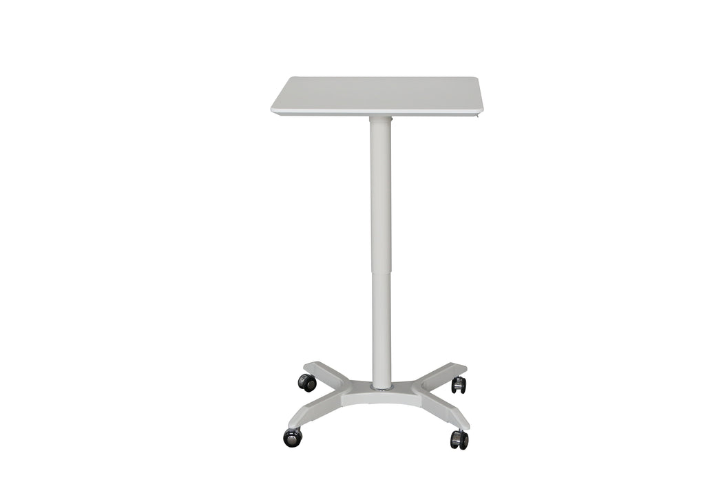 Sylex Helsinki Gas Lift Height Adjustable Table with Castors