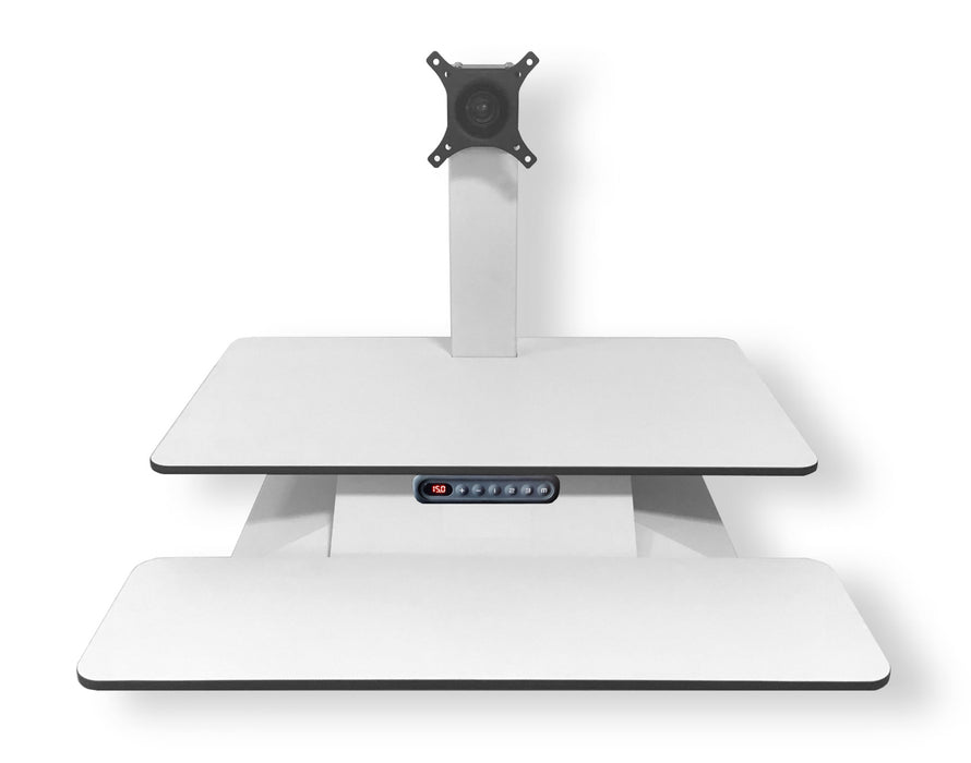 Standesk Electric Sit Stand Dual Work Surface with Memory Controller