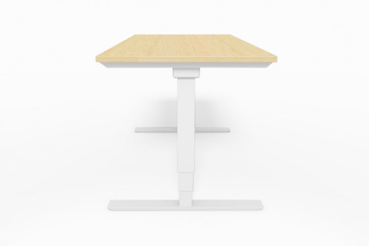 Selectric Solo 201 White or Black Electric Sit and Stand Desk