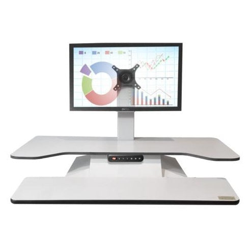 Standesk Pro Electric Sit Stand Dual Work Surface with Memory Controller