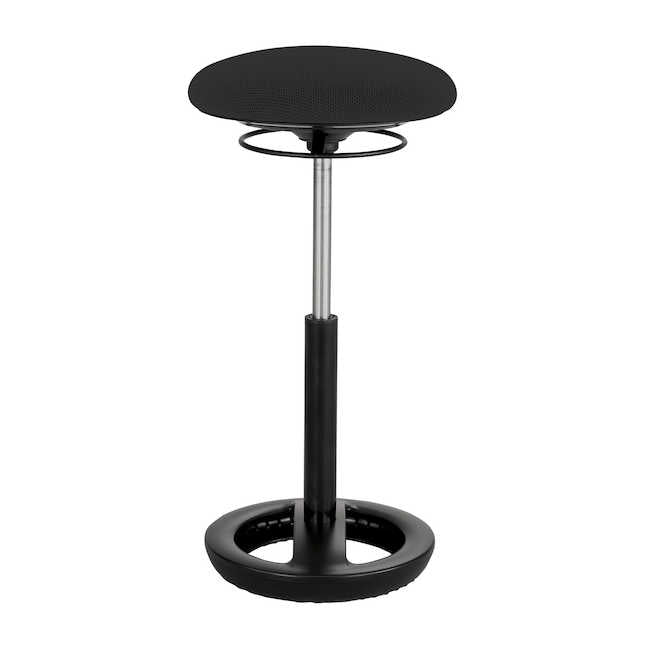 Twixt Extended Active Seating Stool Black Mesh