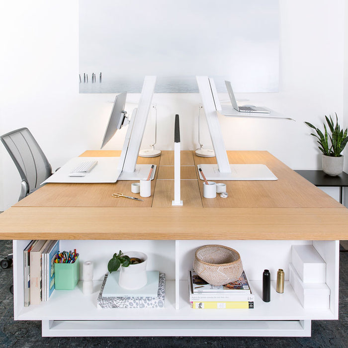 Humanscale QuickStand Eco White and Black