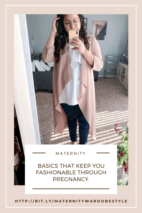 How to Improve Your Pregnancy Fashion Game with a Minimal Wardrobe
