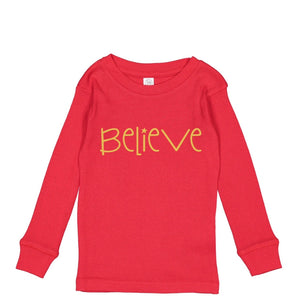 Believe Pajamas (Red)