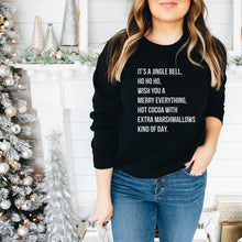 Load image into Gallery viewer, Jingle Bell, Merry Everything Kind of Day Adult Tee