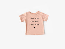 Load image into Gallery viewer, Love Who You Are Kids Tee