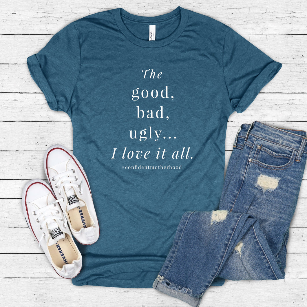 The Good, The Bad, The Ugly Adult Tee
