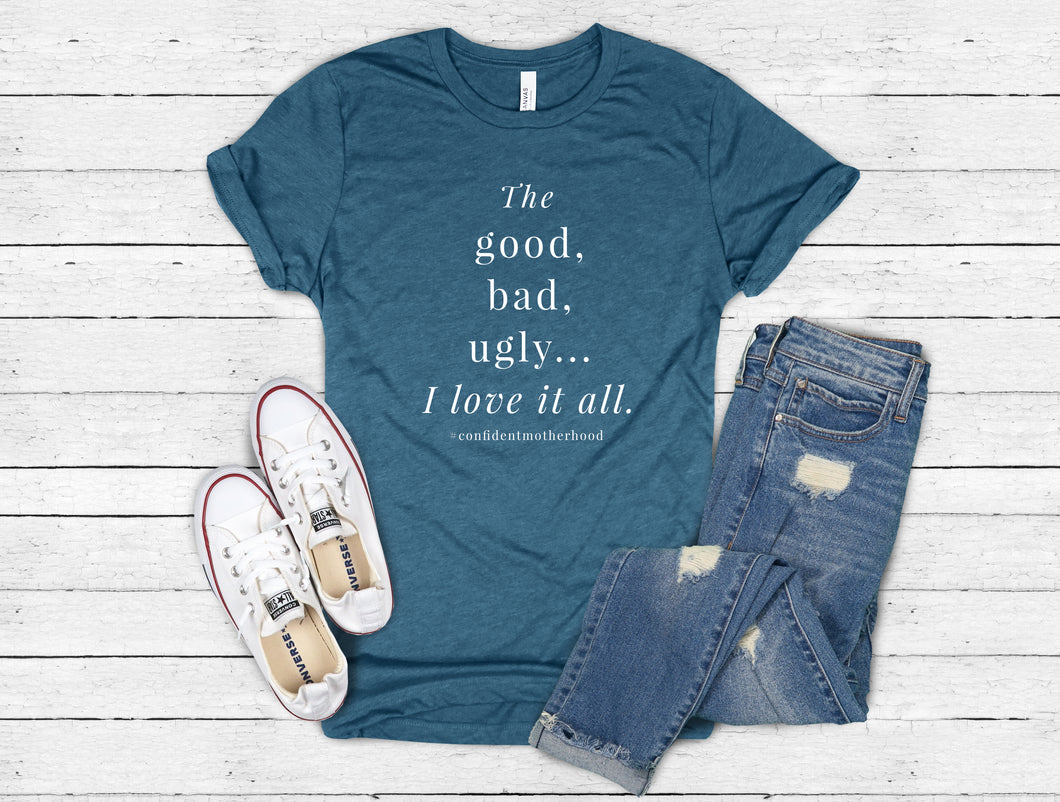 I Love it All Adult Tee