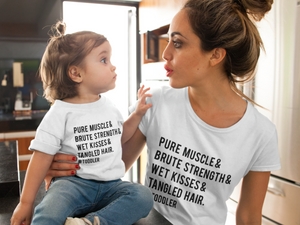 Toddler Life Adult + Kids Tee