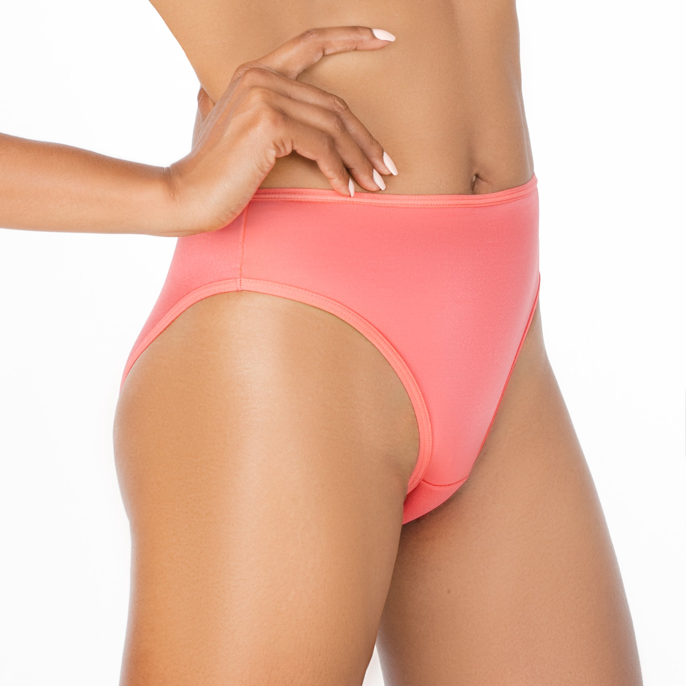 Relief Lilies Period Panties Calypso Coral