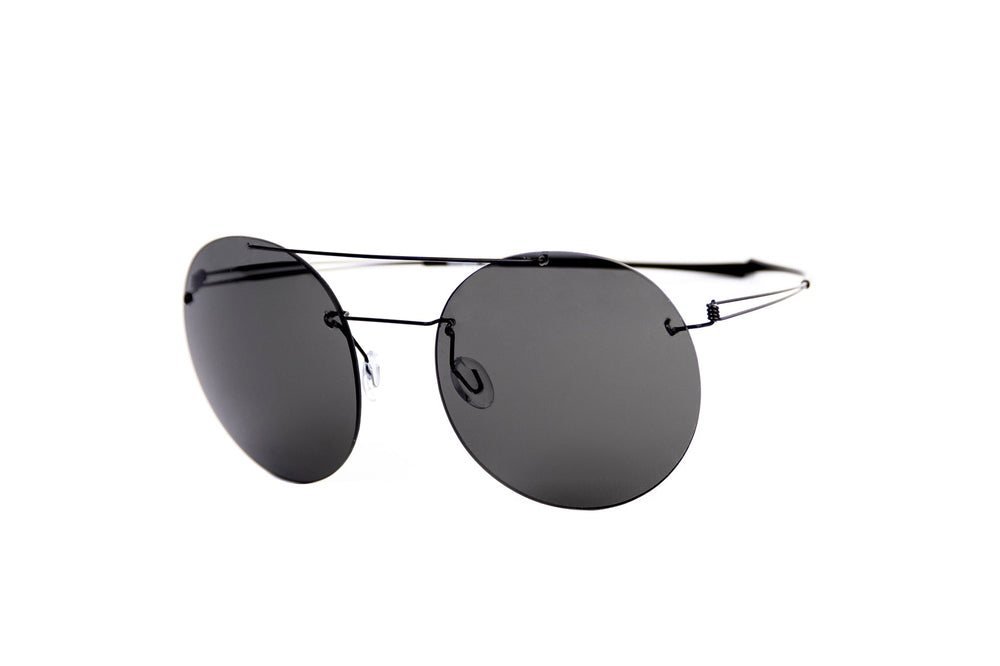 Monogram-MNS008-black-zeiss grey lens