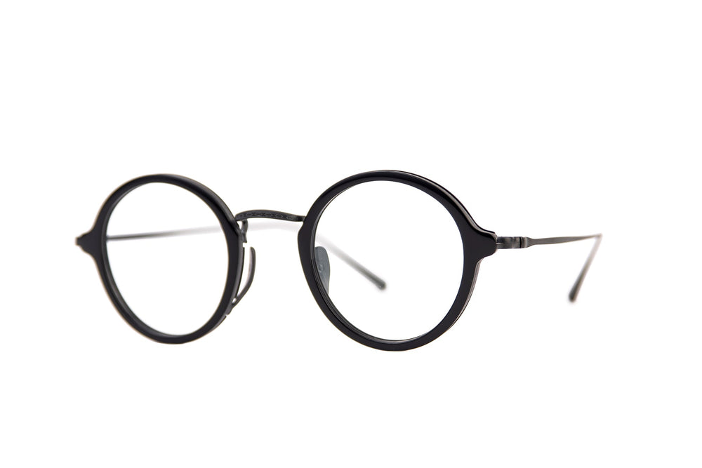 KMN-1110-44-23-black Japonese acetate-brushed black purest japonese titanium