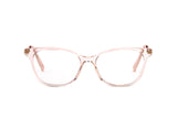 LITE-SESI-49-15-PINK-CHAMPAGNE-GOLD-SMALL FACES RECTANGLE CAT EYES