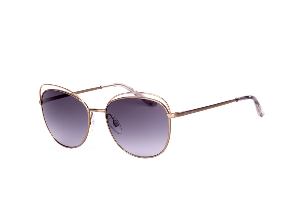 BETTY BARCLAY-56142-715-GOLD-GREY PURPLE LENS