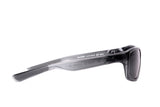 PREMIER-EV0790-016-310-CRYSTAL MERCURY GREY-MATTE BLACK-GREY POLARIZED LENSES-RECTANGLE