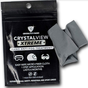 Crystal View Xtreme anti-fog treatment