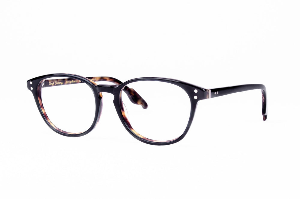 HANNA-1-NAVY ALMOST BLACK-TORTOISE INSIDE