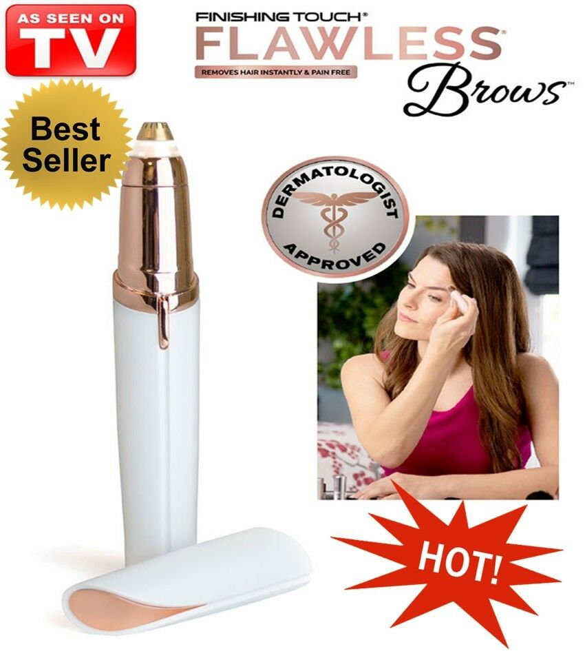 Flawless Hair Remover for Brows Make Up tool Finishing Eyebrow Face Care Touch + Free Shipping