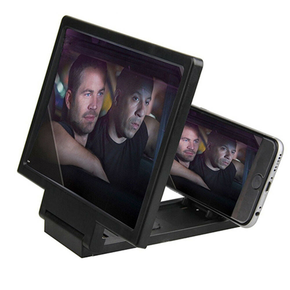 "3D Enlarged Screen Mobile Phone Amplifier Magnifier Bracket Cellphone Holder ""Buy One And Get One Free+ Free Shipping"" Great Gift"
