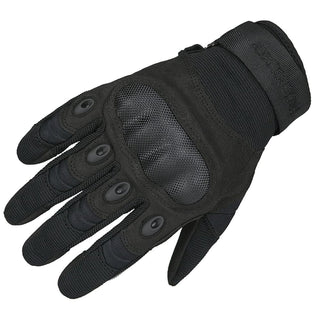 Tactical Hard Knuckle Gloves Military Gloves Combat Army Black Fullfinger Gloves - Military Gears