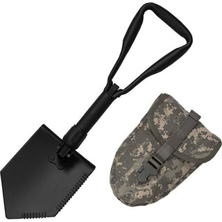 US Military Original Issue E-Tool Entrenching Shovel with ACU Carrying Case / Pouch - Military Gears