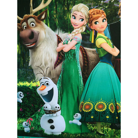 Princesses, Snowman, Reindeer, DIY Diamond Painting Kit