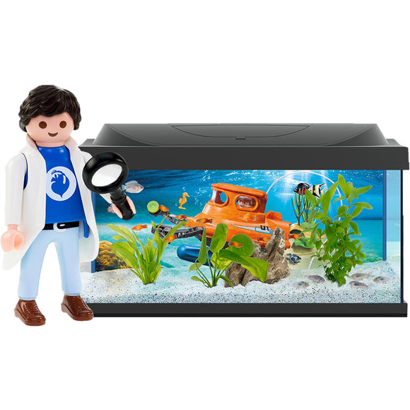 Tetra Starter Line Playmobil LED aquarium, 54 liter.
