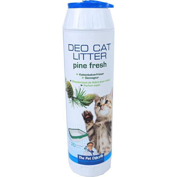 The Pet Doctor Deo cat litter