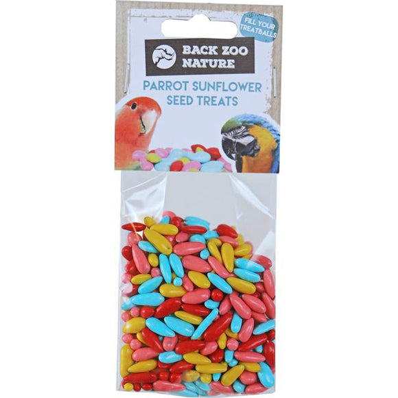 Back Zoo Nature sunflower seed treats, 100 gram.