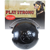 Play Strong rubber ballen zwart.