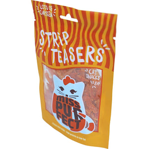 Miss Purfect cat snacks strip teasers, 45 gram.