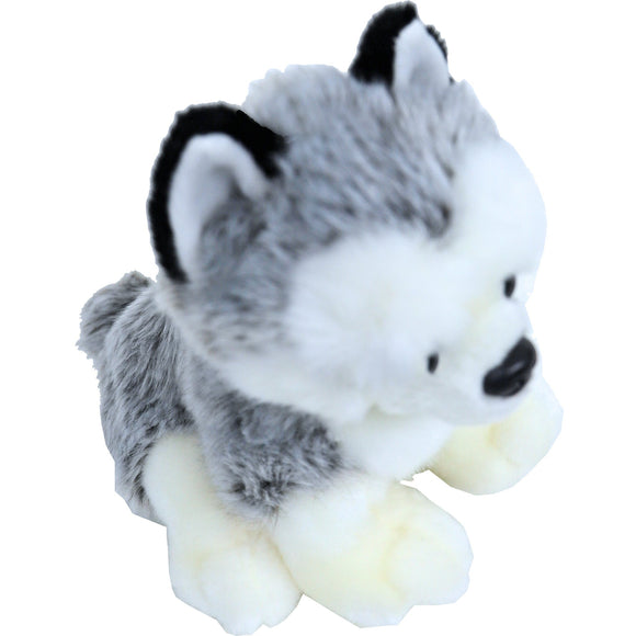 Boony 'Natural Decoration' pluche husky 20 cm, zittend.