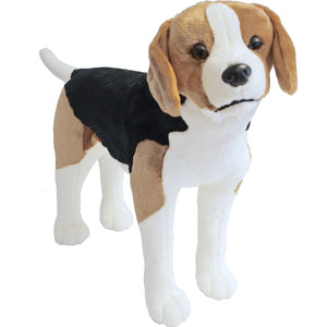 Boony 'Natural Decoration' pluche beagle 53 cm, staand.