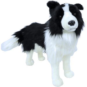 Boony 'Natural Decoration' pluche Border Collie 53 cm, staand.