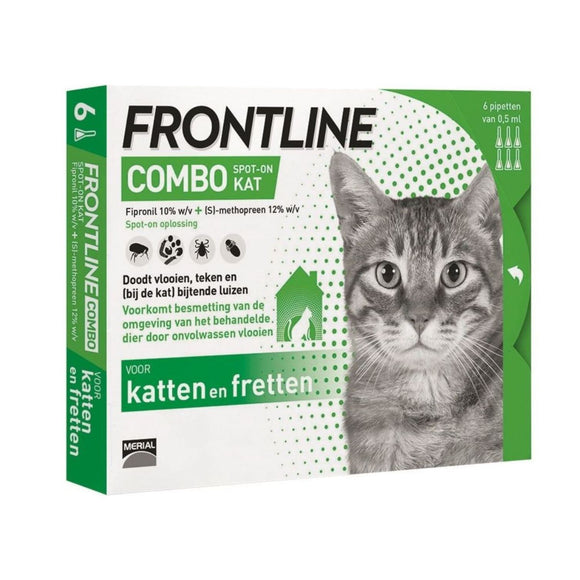 Copy of Frontline kat 6 Pipetten - Dierplezier.nl